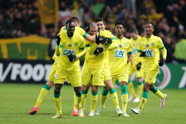 Bessat voit triple et Nantes éjecte l'OL de la Coupe
