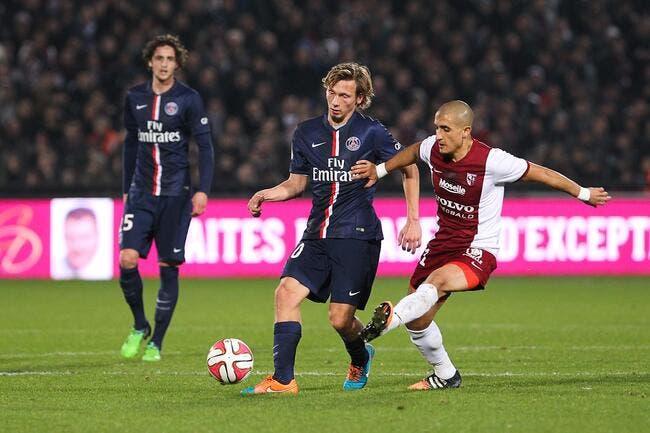 500.000 euros et Chantôme quitte le PSG pour Bordeaux