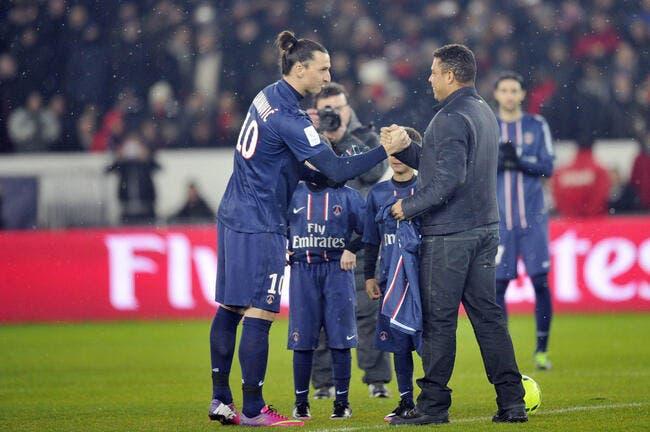 Avec Ibra, le PSG a le meilleur attaquant au monde pense Ronaldo
