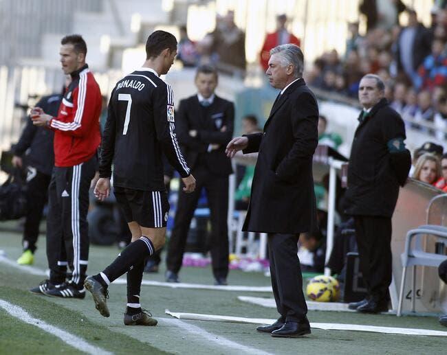 Cristiano Ronaldo s'excuse pour son coup de folie