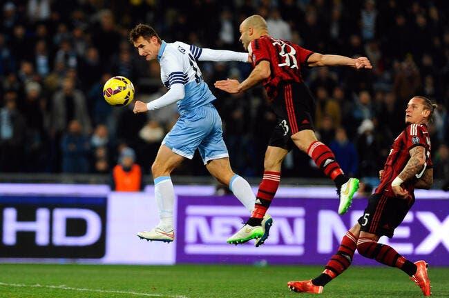 Lazio Rome - Milan AC : 3-1