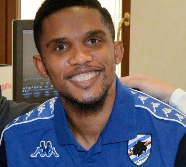 Officiel : Eto'o signe à la Sampdoria