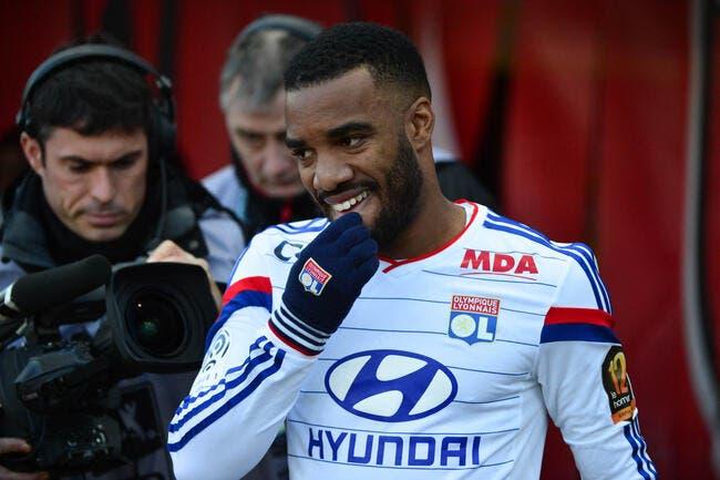 L'OL craint l'absence de Lacazette contre Monaco et le PSG