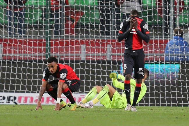 Rennes a pris « une bonne claque » face à Caen