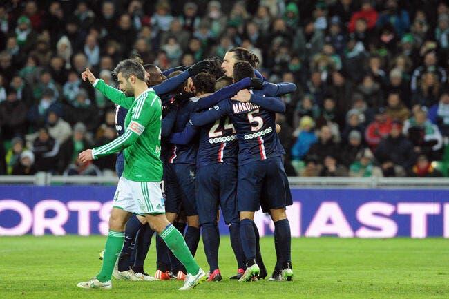 Vainqueur à Saint-Etienne, le PSG revient sur l'OM