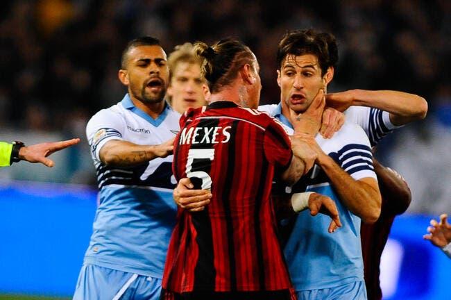 Philippe Mexès suspendu quatre matches