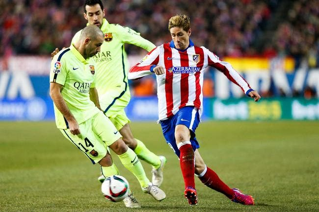 Atletico Madrid - FC Barcelone : 2-3