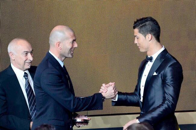 Cristiano Ronaldo n'a pas besoin d'entraîneur pense Zidane