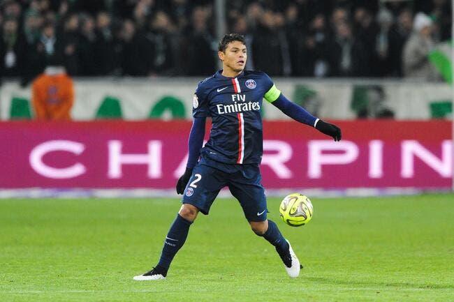 Thiago Silva ne rigole pas avant PSG-Rennes