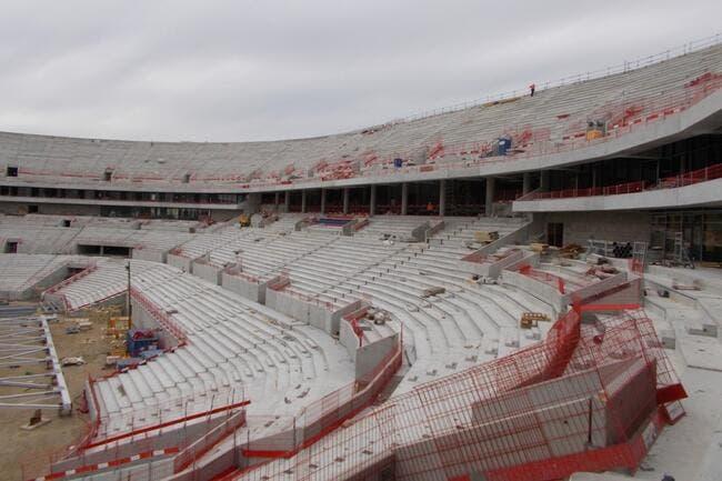 Le grand stade va faire du bruit promet l'OL
