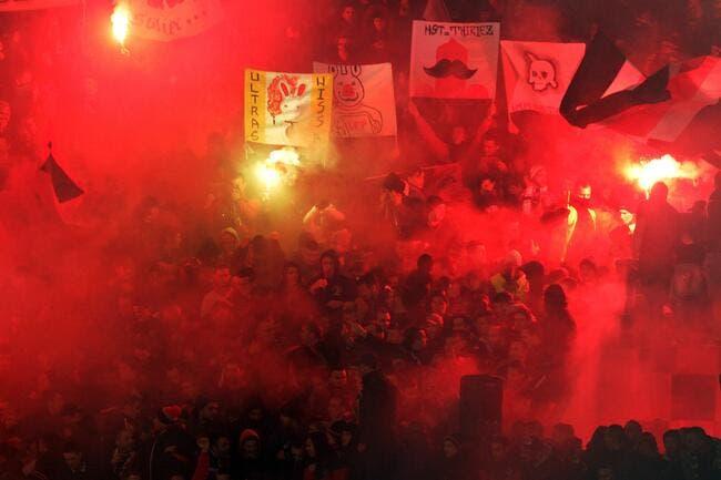 Les supporters de Nice interdits à Metz