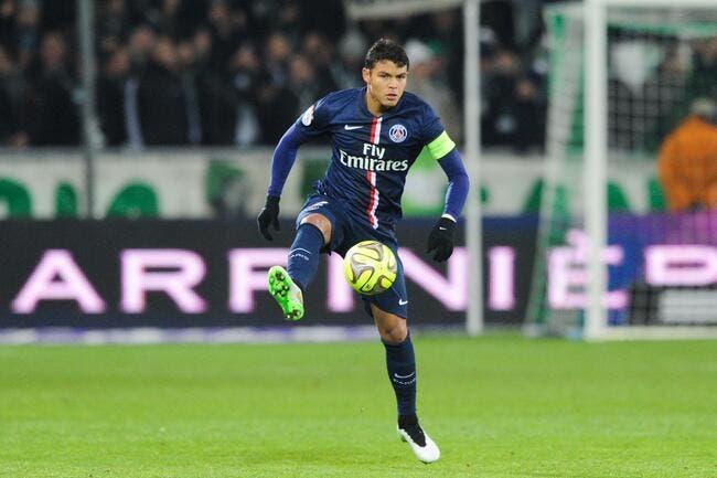 Le grand Thiago Silva est de retour au PSG