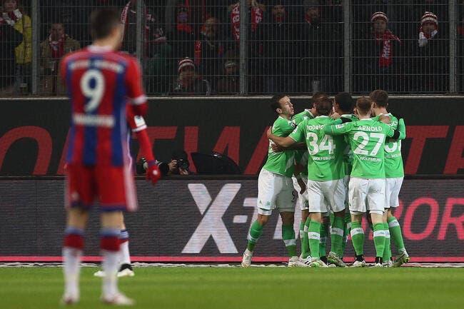 Wolfsburg – Bayern Munich 4-1