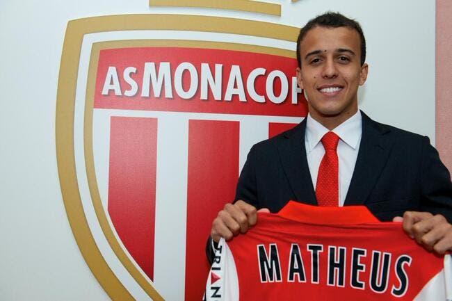 Officiel : Monaco se fait prêter un attaquant brésilien