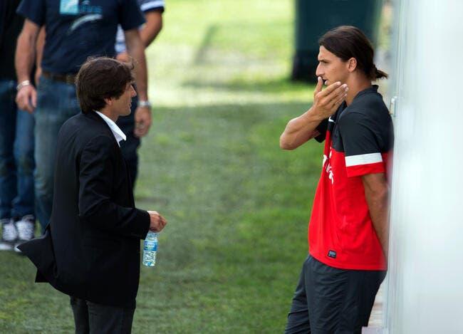 Ibra du PSG au Milan AC ? Leonardo vient s'en mêler