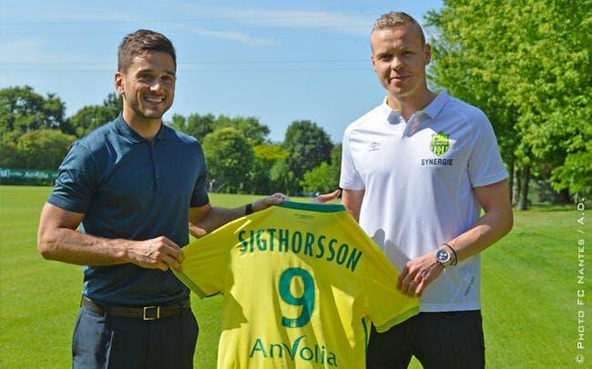 Officiel : Nantes annonce l'arrivée de Sigthorsson