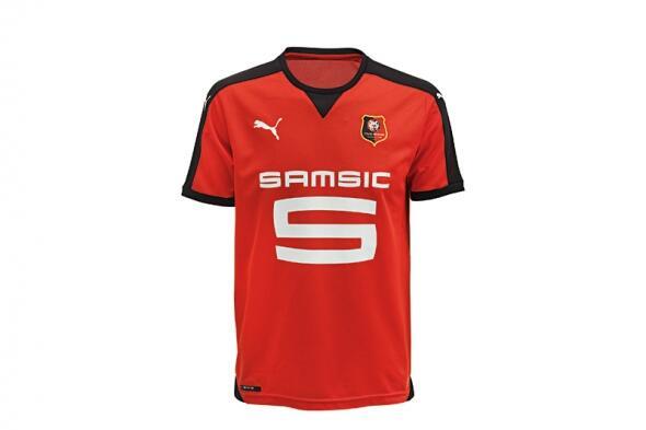 Photo : Rennes présente son nouveau maillot