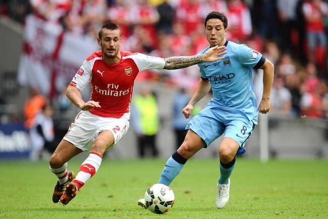 Nasri démolit la rumeur d'un retour à Arsenal
