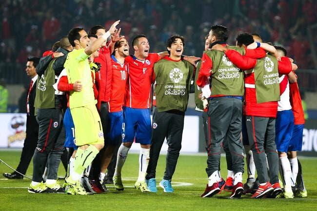 Première historique pour le Chili !