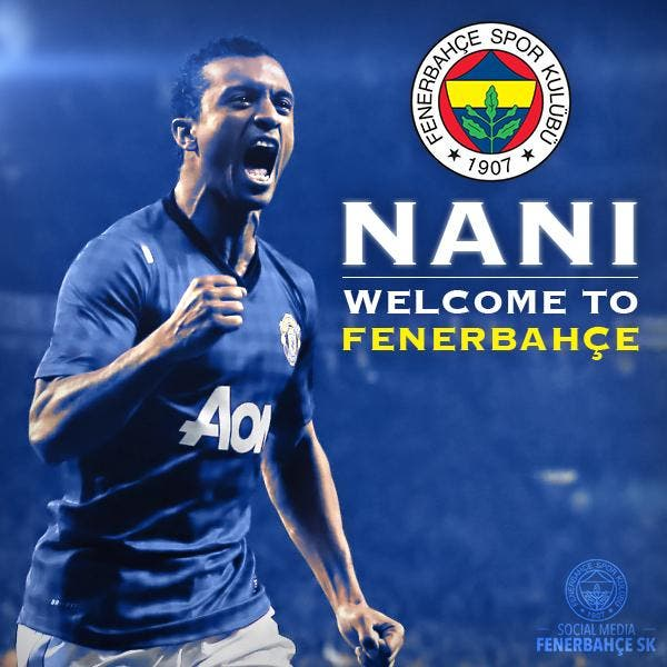 Nani signe trois ans à Fenerbahçe