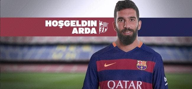 Officiel : Arda Turan signe au Barça pour 34 ME