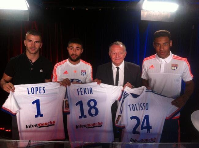 Fekir, Lopes et Tolisso prolongent lors d'un Aulas Show énorme !