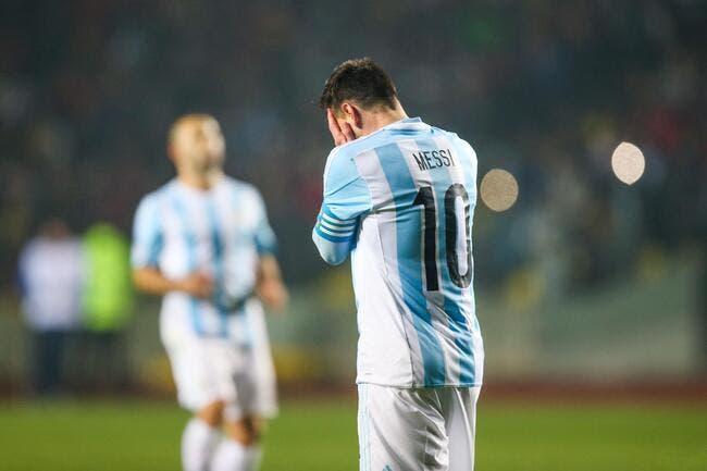 Messi dégoûté au point de tout arrêter avec l'Argentine