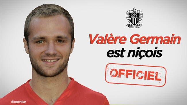 Valère Germain prêté par Monaco à Nice