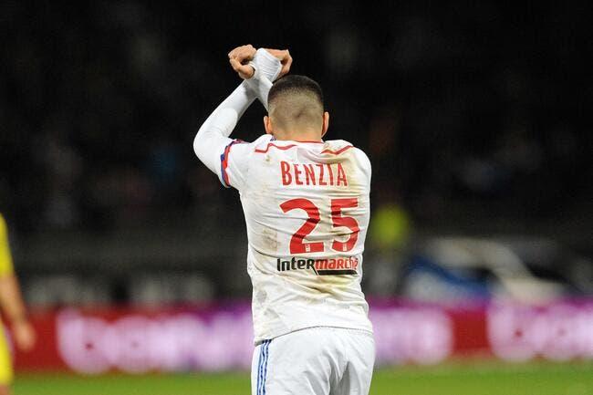 Benzia pourra quitter l'OL en août