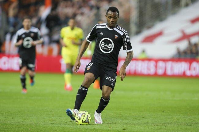 Lille promet du sport à Lorient pour Jordan Ayew