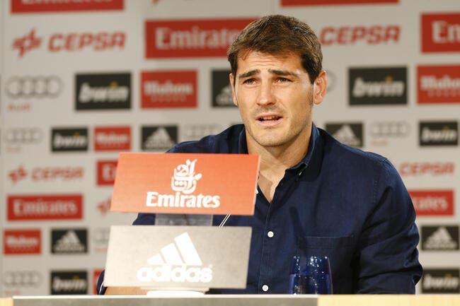 Le Real Madrid vraiment pas classe avec Casillas !