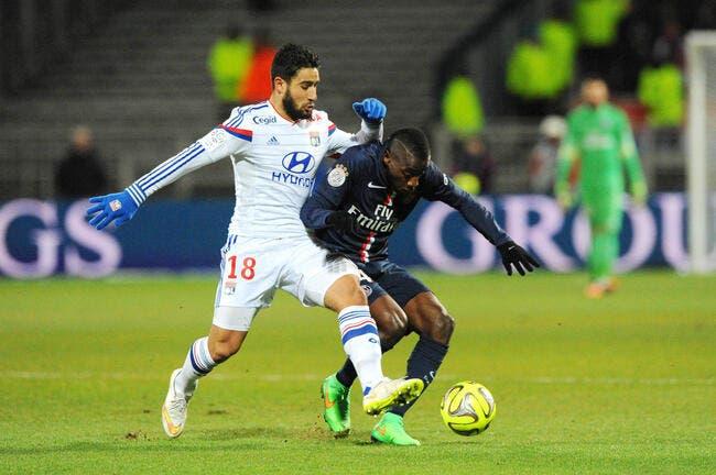 Nabil Fekir privé de PSG-OL lors du Trophée des champions