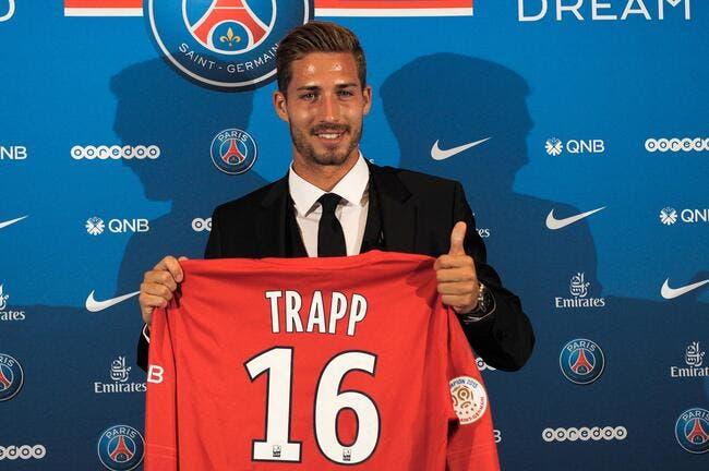 Trapp n'a exigé aucune garantie pour signer au PSG