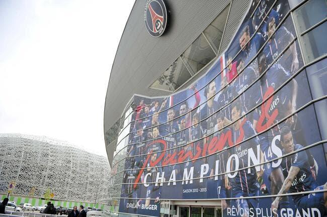 Le Parc à 60.000 places, ça traîne pour le PSG