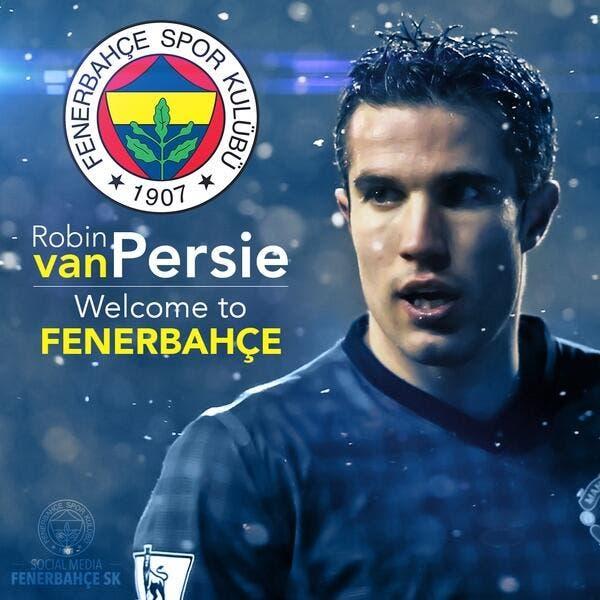 Officiel : Van Persie signe à Fenerbahçe