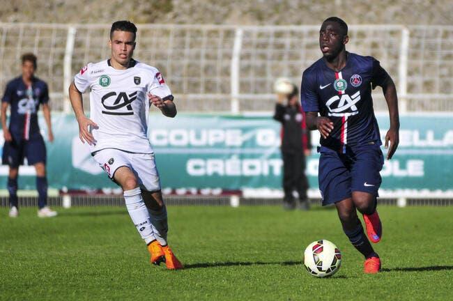 Le PSG fait signer un contrat pro à Roli Pereira de Sa