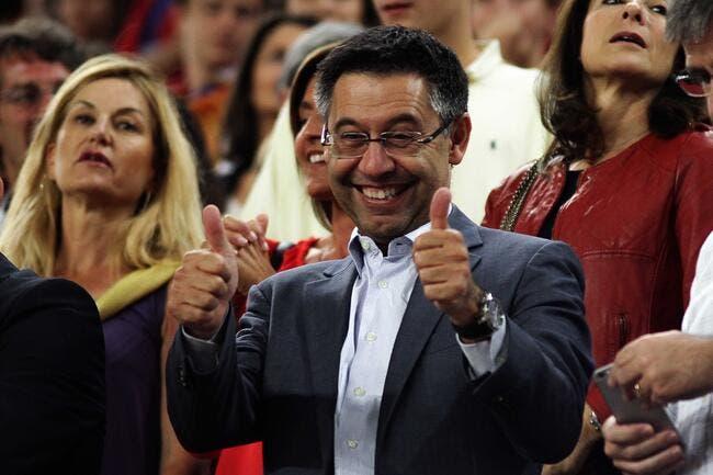 Bartomeu réélu président du FC Barcelone avec 54,6% des voix