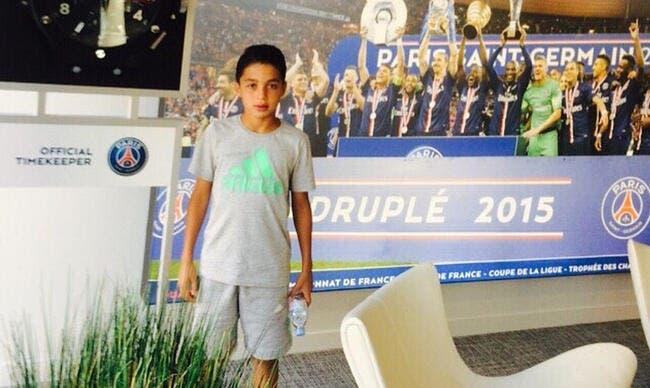 La pépite de 13 ans du Barça a choisi le PSG