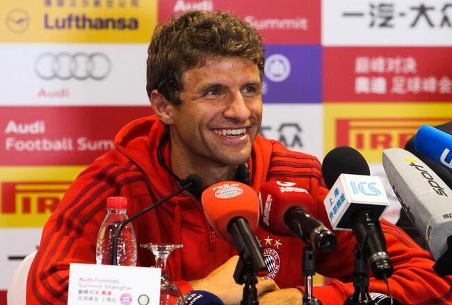 100ME, l'offre folle de Man Utd pour Thomas Müller ?