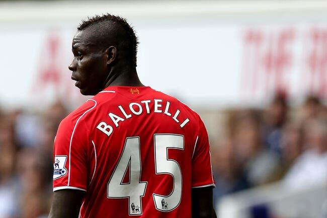 Et forcément Liverpool montre la sortie à Balotelli