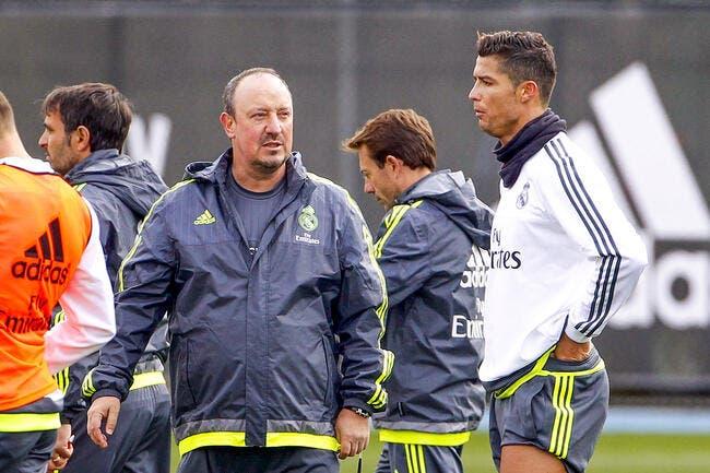 Benitez nargue Man United avec Cristiano Ronaldo