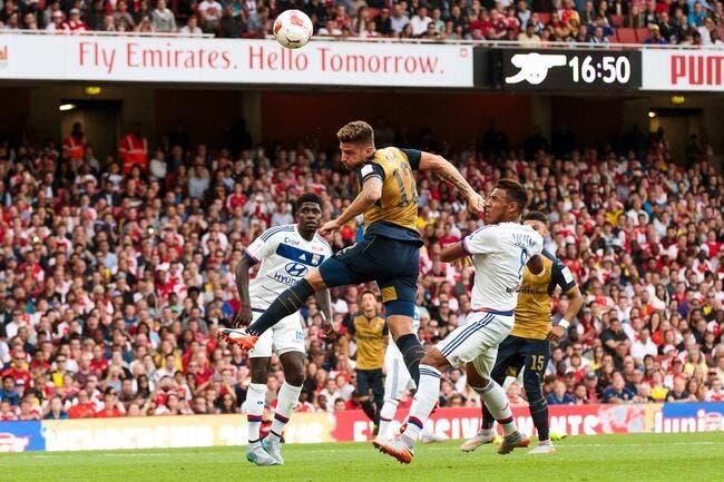 L'OL perd Grenier et s'écroule violemment face à Arsenal