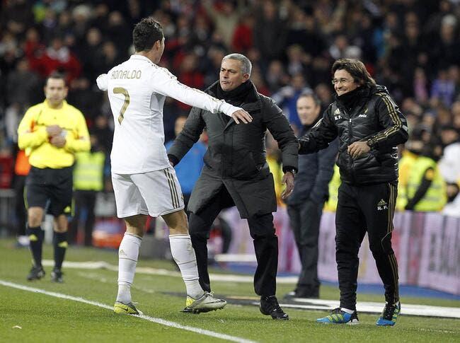 Cristiano Ronaldo prend un petit taquet du Special One