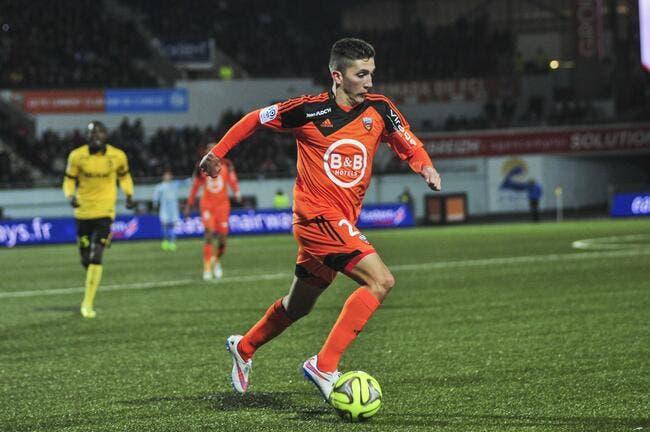 Officiel : Autret quitte Lorient pour Lens
