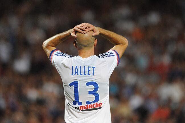 Un mois d'absence pour Jallet à l'OL !
