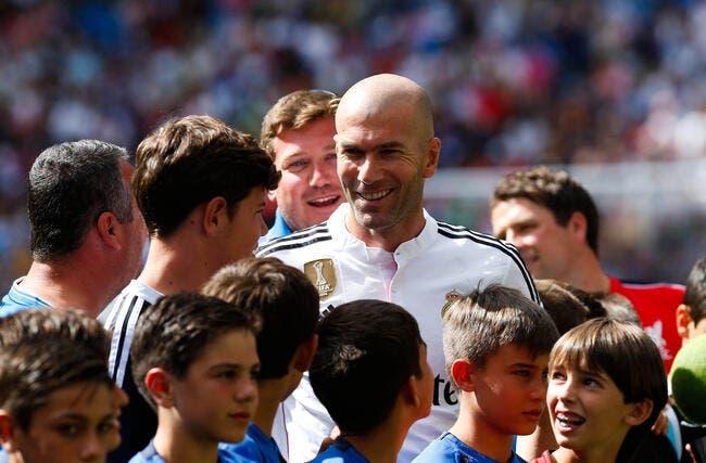 Zidane valide le choix du PSG avec Di Maria