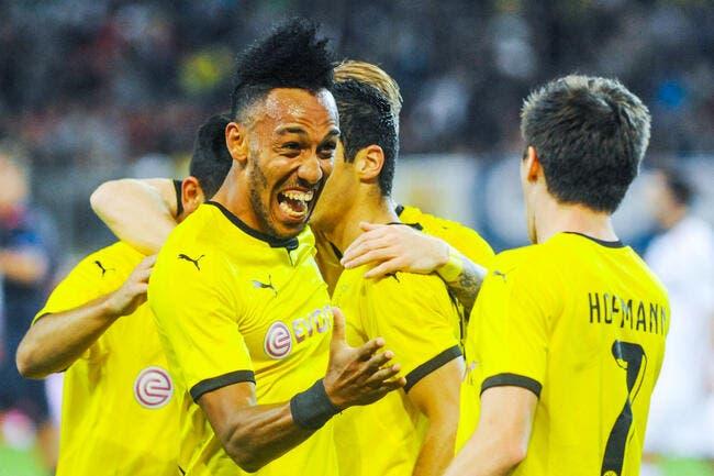 Aubameyang prolonge à Dortmund