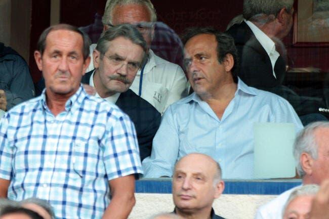 Thiriez veut Platini à la présidence de la FIFA