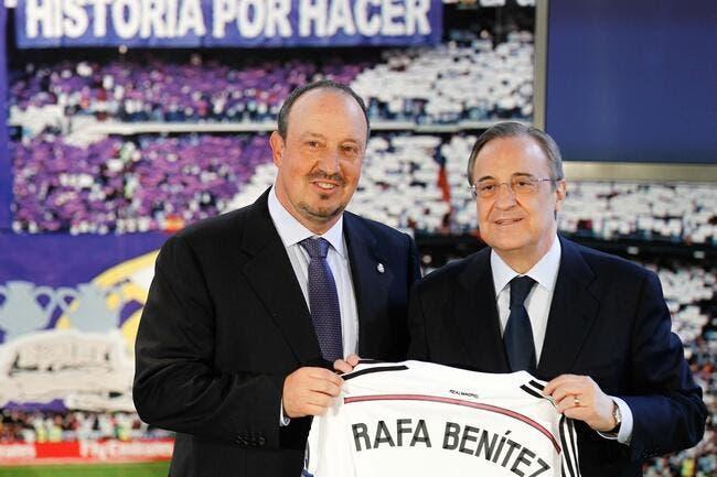Benitez ému de revenir «chez lui à Madrid»