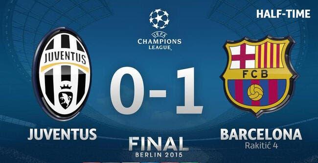 FC Barcelone - Juventus : 1-0 à la pause